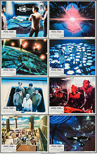 Robert Wise signed Star Trek The Motion Picture 1979 8 Lobby Cards VF+ 8.5