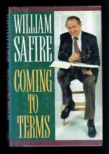 Safire, William; Coming To Terms. Inscribed by Author. 1991 VG