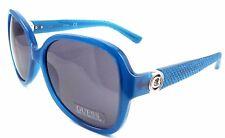 GUESS GF0275 87A Women's Sunglasses 58-16-135 Shiny Turquoise Frame / Smoke Lens