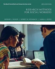 Research Methods for Social Workers 8th Edition 2017 Paperback
