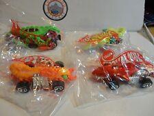 Hot Wheels Honey I Shrunk Ourselves Promotional (4) Car Set w/Red Sharkruiser