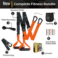 Gym Suspension Resistance Strength Training Strap Home Workout Trainer Fitness