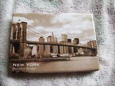 REFRIGERATOR MAGNET BROOKLYN BRIDGE