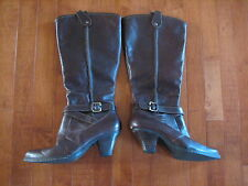 BORN ~ Womens Fashion Knee High Brown Winter Boots ~ Size 9.5