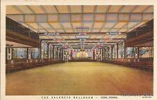 INTERIOR VIEW THE VALENCIA BALLROOM, YORK, PA