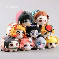 Demon Slayer Kimetsu no Yaiba Plush Keychain Soft Stuffed Pendant Anime Doll Toy