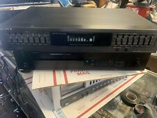 Sony SEQ-421 7 Band Graphic Equalizer Digital Display Tested Great Working Ord