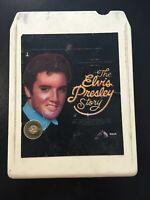 1977 The Elvis Presley Story 8 Track Cartridge Tape Vol 2 Love Me Burning Love