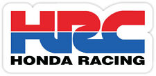 "HRC Honda Racing sticker decal 6"" x 3"""