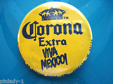 CORONA  extra  Viva  Mexico beer  - button GIFT BOXED