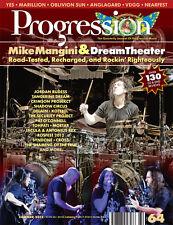 PROGRESSION MAG #64 (Summer 2012) Dream Theater, Marillion, Yes, VDGG, Anglagard