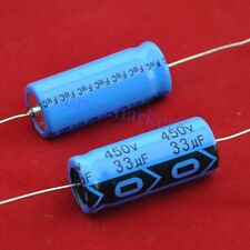 20pcs Axial Electrolytic Capacitor 33uf 450V Tube Amp