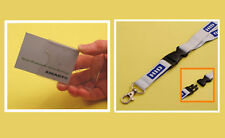 Single Card Kit: Card Holder & HID Lanyard