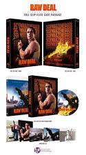 Raw Deal (2016, Blu-ray) Full Slip Limited (500 copies) Arnold Schwarzenegger