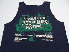 RUSO River Jazz And Blues Festival - azul marino - Pequeño Talla