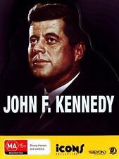 ICONS John F. Kennedy ( 8 DVD Tin Case ) BRAND NEW REGION 4