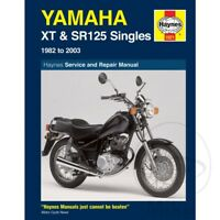 Yamaha SR 125 1992-1995 Haynes Service Repair Manual 1021
