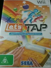 Wii game lets tap   as new
