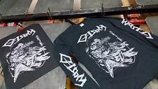 gloom dbeat japan crust punk band tshirt long sleeve S/M/L/XL size+backpatch lot