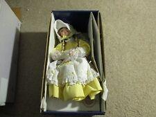 Ashton Drake Galleries Children Mother Goose Little Miss Muffet Porcelain Doll