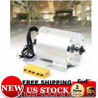 2KW 60V DC Brushless Electric Motor 4500RPM Scooter Reduction E-Scooter Parts US