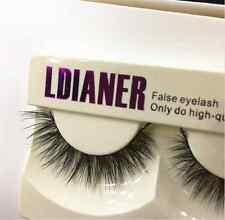 1Pair Real Mink Natural Long Black False Eyelashes Eye Lashes Makeup Extension A