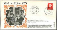 Netherlands 1974 H.H. Princess Maria Carolina Christina Cover #C36200