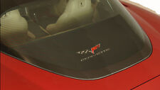 2005 - 2013 Corvette Rear Cargo Shade with C6 Logo Embroidered