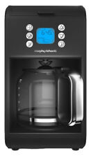 Morphy Richards Accents 162008 Pour Over Filter Coffee Machine - 900W, Black
