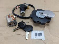 Honda CG110C JX110 JX125 Main Ignition Switch Steering Tank Cap Lock SET NOS OEM
