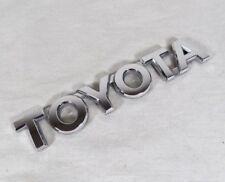 TOYOTA SIENNA EMBLEM 05-10 BACK HATCH OEM CHROME BADGE trunk sign symbol logo