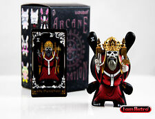 "The Heirophant Red - Arcane Divination Dunny Series 3"" Vinyl FIgure - Kidrobot"