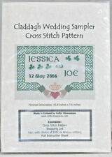 Cross Stitch Pattern ~ Celtic Obsessions ~ Claddagh Wedding Sampler