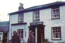 PHOTO  TARBET OLD MILITARY ROAD A83 TARBET STORES AND POST OFFICE. 1971
