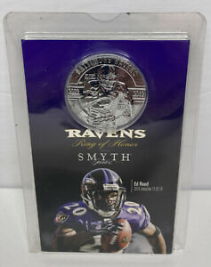 Brand New Ed Reed Ring of Honor SMYTH Coin 2015 NFL Seal