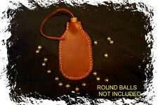 BLACK POWDER ROUND BALL  BULLET BAG .32-54 CAL.