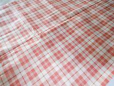 grand coupon de tissu ancien pour nappe rideaux satin  coton neuf 3.60 m x 1.45