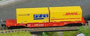 "FLEISCMANN 8246K  DB CARGO container wagon    ""BOXED""  N Gauge (F1204)"