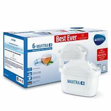 Pack de 6 Filtre BRITA pour Carafe Maxtra+ Cartouche Purificateur d'Eau Pratique