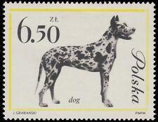 POLOGNE / POLAND - 1963 - Mi.1382 6,50Zl Mastiff Dog - Mint*