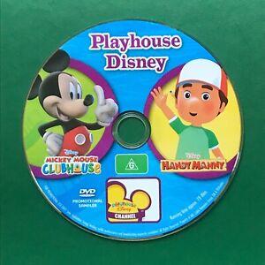 Playhouse Disney: Mickey House Clubhouse + Handy Man DVD Promotional Sampler
