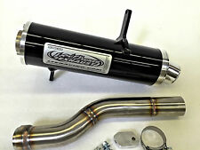 Looney Tuned Exhaust LTE Black Slip On Can-am Outlander 650 800 850 1000 XMR All