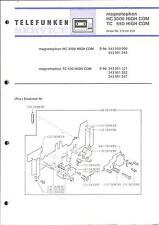 Telefunken Original Service Manual für HC 3000 / TC 650