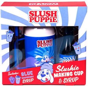 Slush Puppie Slushie Making Cup & Blue Raspberry Syrup Create Your Own Slushie