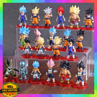 Lot 21pcs Toy Set Dragonball Z Dragon Ball DBZ Action Figure Anime Goku Vegeta