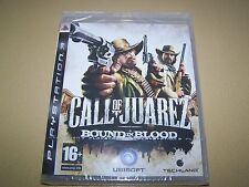 Call Of Juarez Bound In Blood PS3 ** NEW SEALED **