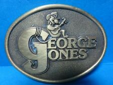 George Jones Belt Buckle