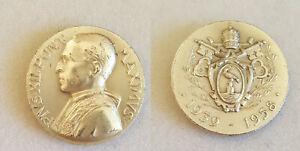 1939 - 1958 Pope Pius XII death medal Vatican City by Aurelio Mistruzzi