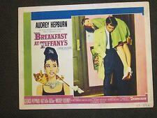 Breakfast At Tiffany`s     -   Original  Lobby Card    -  Audrey Hepburn -