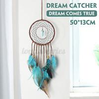 DIY Feather Dream Catcher Wall Hanging Decor Handmade Dream Catcher Kits A